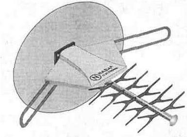 Антенны с блоком питания усилитель схема